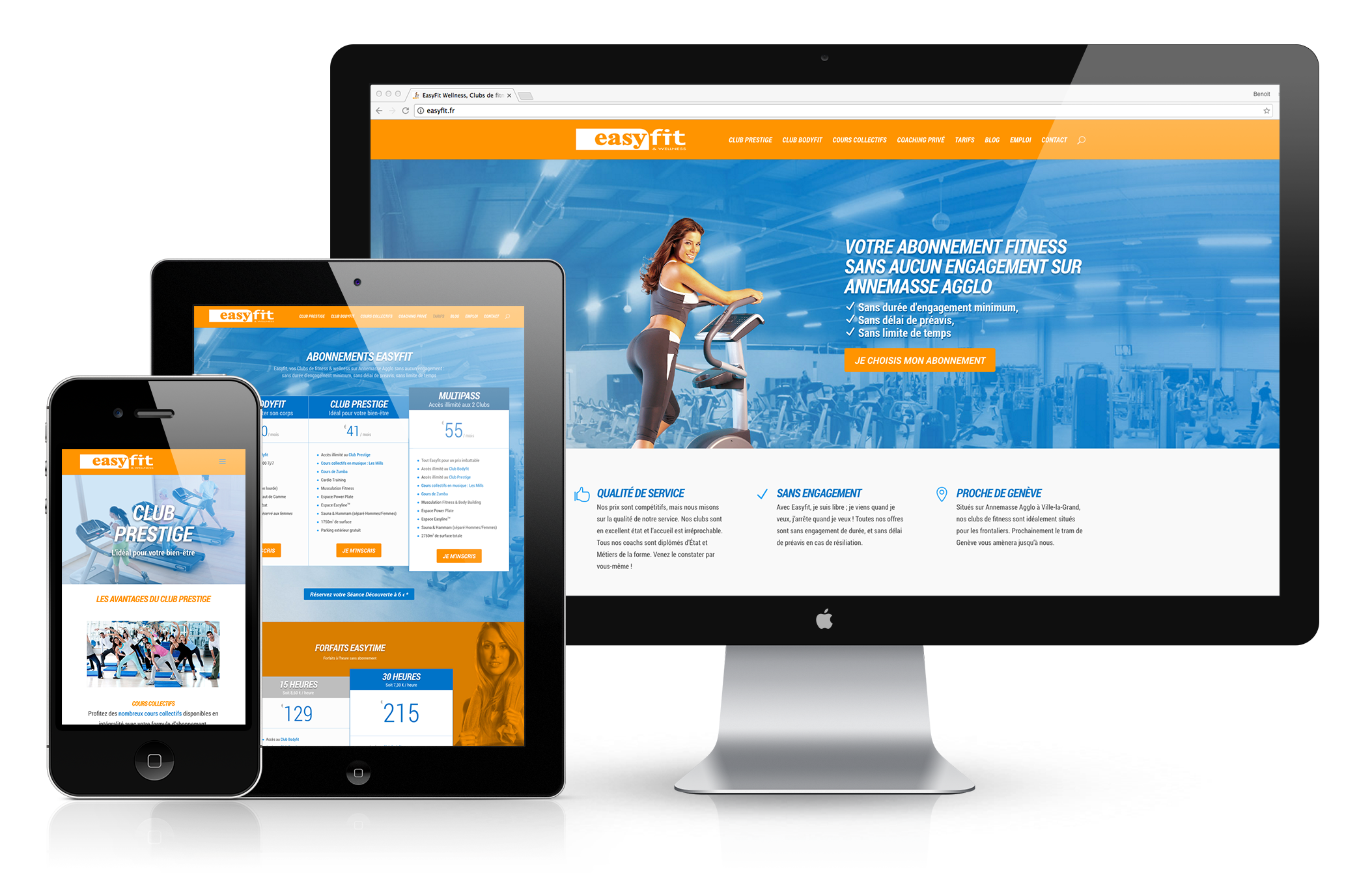 Easyfit, une création web signée villi®