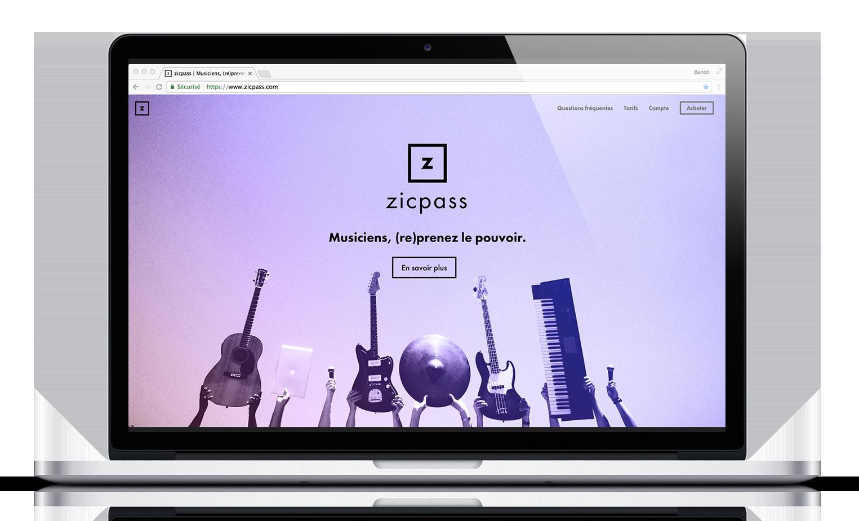 zicpass, la startup créée par villi®