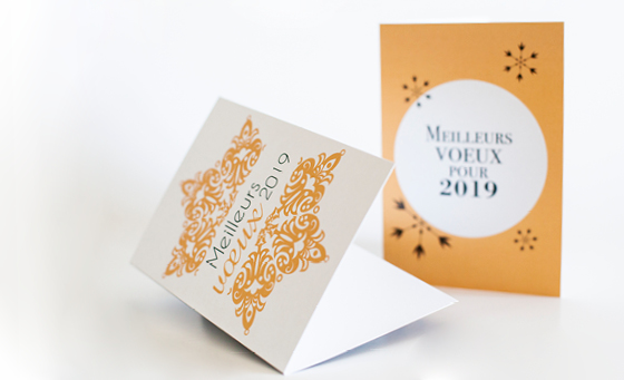 Carte de vœux en 2019 : la bonne idée ?